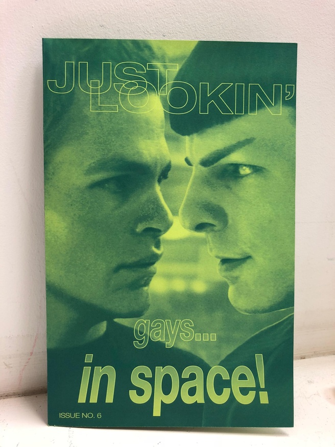 Just Lookin' Issue 6: Gays... In Space!