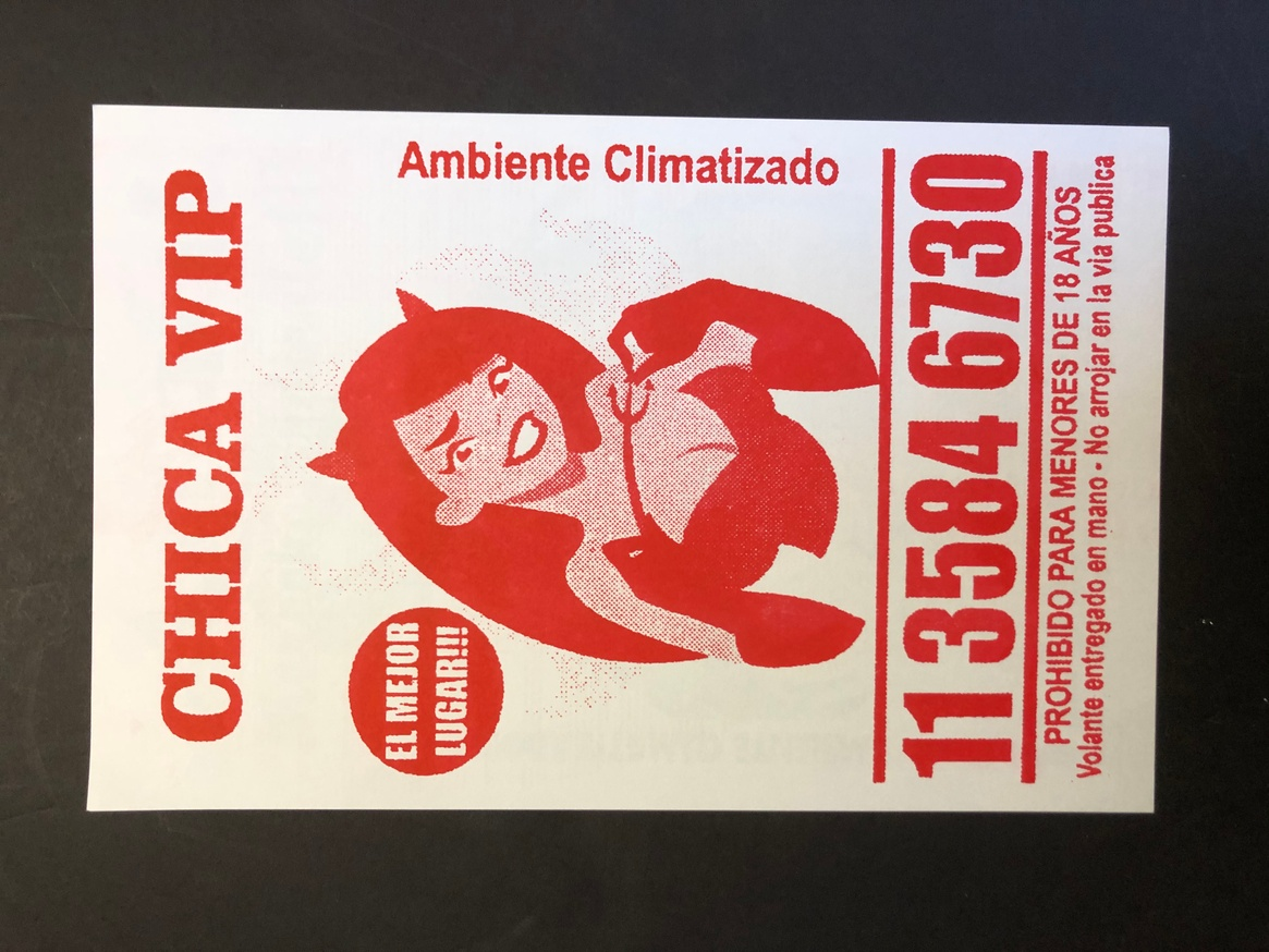 Culo Card (Red)