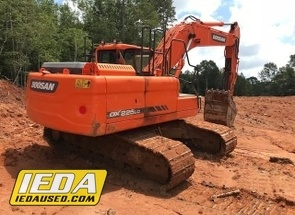 Used 2015 Doosan DX225 LC-3 For Sale