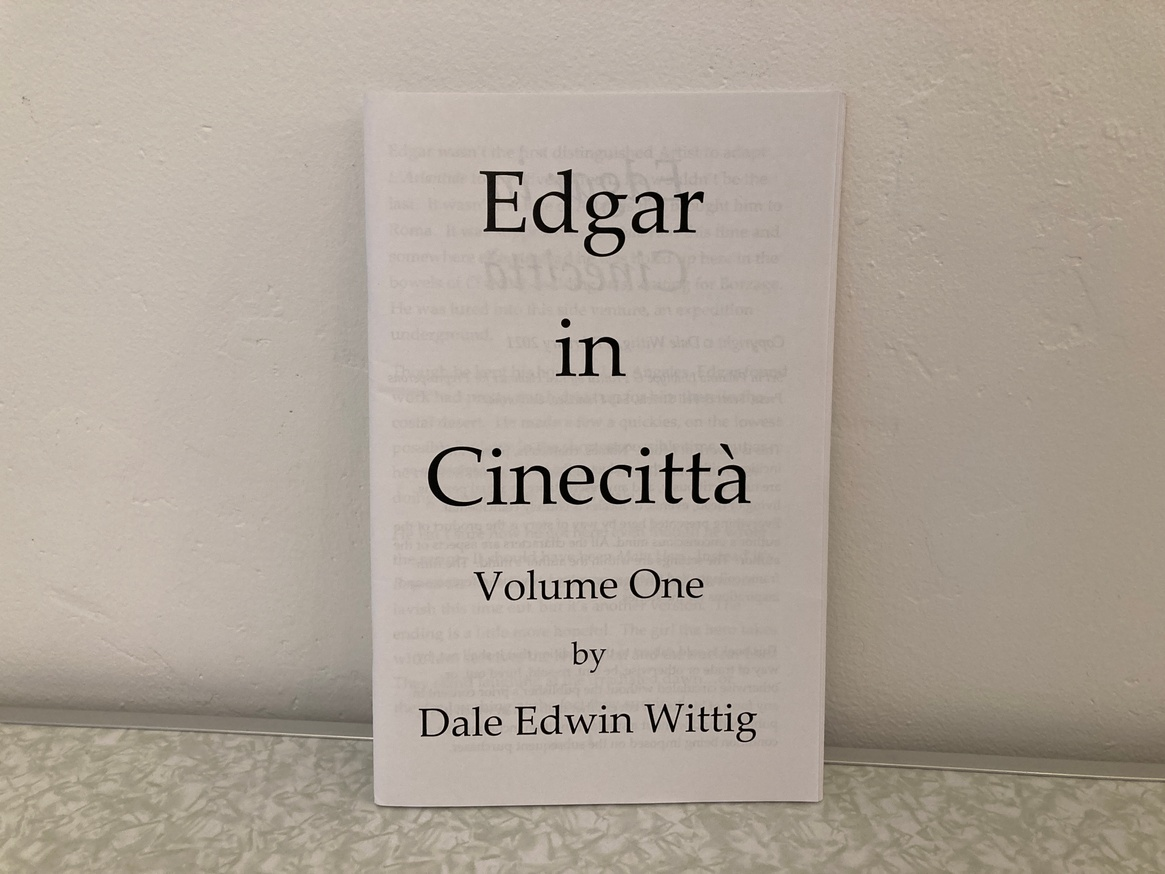 Edgar in Cenecittà Volume One