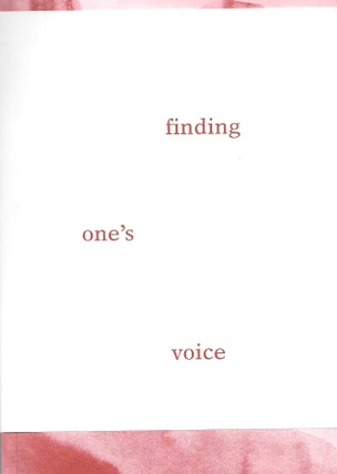 Finding One's Voice