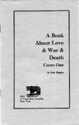 A Book about Love & War & Death/Higgins