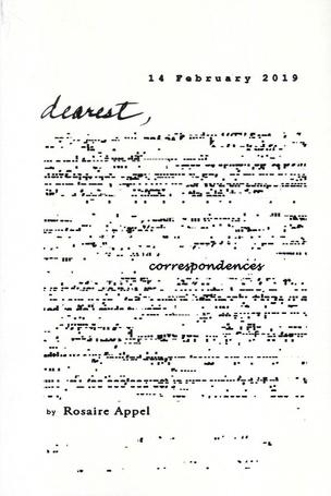 Dearest…/ correspondences