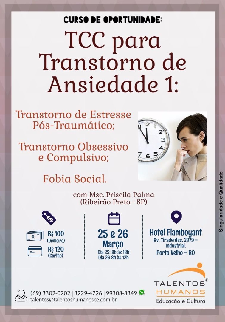 TCC PARA TRANSTORNO DE ANSIEDADE