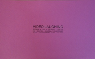 Video Laughing, February 13-24, 1979 [The Kitchen Posters]