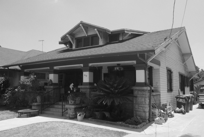 FIG. 8: Edward Roybal Residence, 628 South Evergreen Avenue, Boyle Heights. Image courtesy of Los Angeles City Planning.