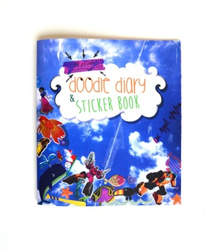 Doodle Diary & Sticker Book