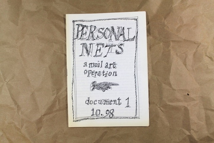 Personal Nets : A Mail Art Operation, Document 1, 10.98