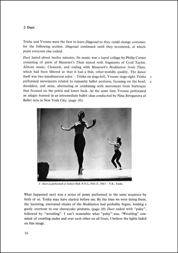 Yvonne Rainer: Work 1961–73 thumbnail 2