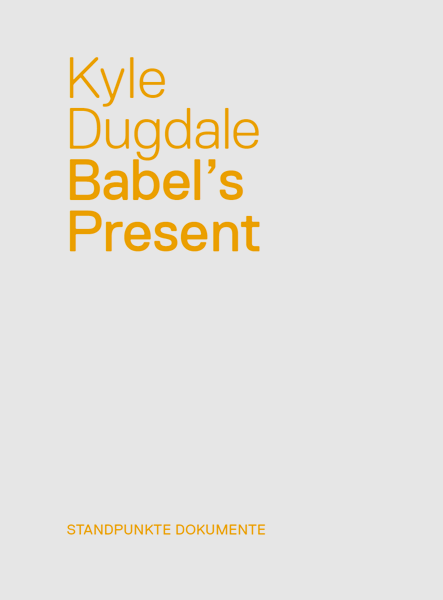 Cover of Babel's Present by Kyle Dugdale
