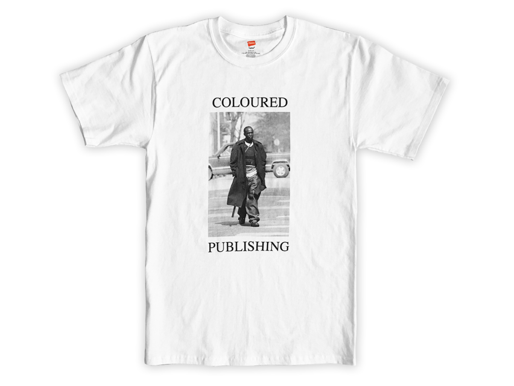 "Coloured Publishing Icon ""OMAR"" T-shirt [Large] thumbnail 1"