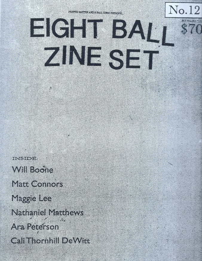 8 Ball Zine Box Set, Vol. 12