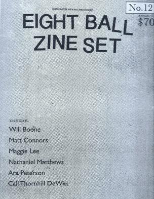 8 Ball Zine Box Set, Vol. 12