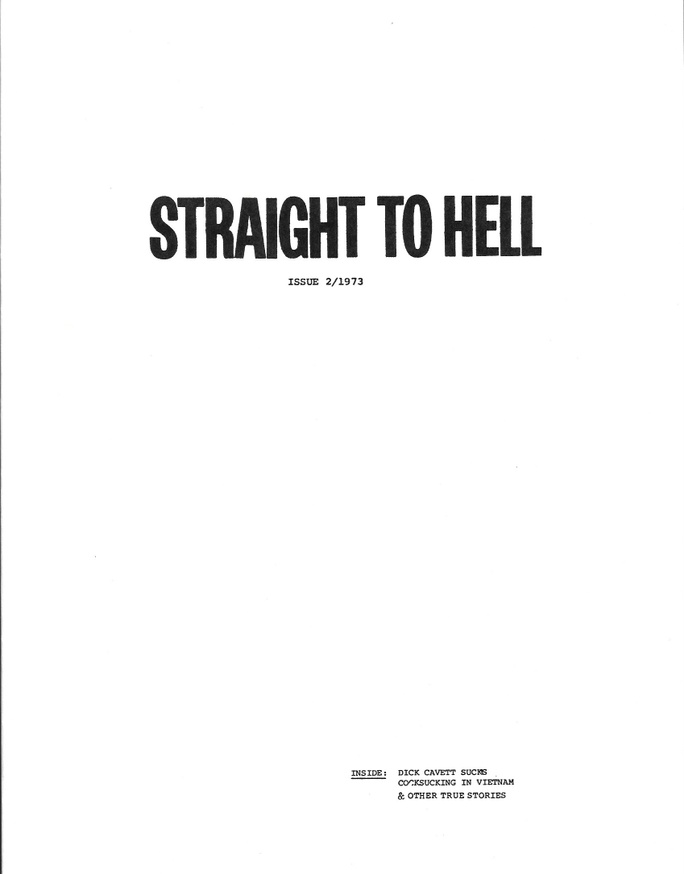 S.T.H. : Straight to Hell