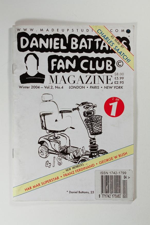 Daniel Battams Fan Club Magazine