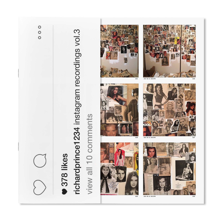 Richard Prince 1234: Instagram Recordings, Vol. 3