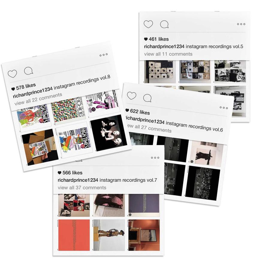 Richard Prince 1234: Instagram Recordings Complete Set, Vols. 1-12 thumbnail 5