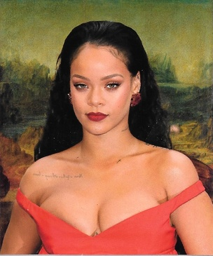Rihanna Lisa Sticker