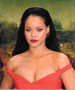 Rihanna Lisa Sticker