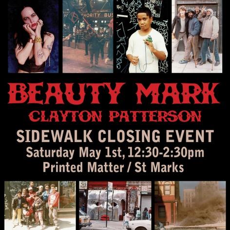 Sidewalk Closing at Printed Matter / St Marks