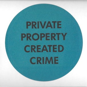 Private Property Created Crime Sticker