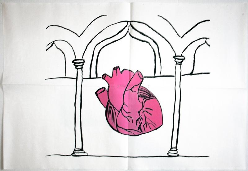 Talk Is Cheap Heart Columns Poster