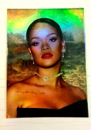 Rihanna Lisa Vol. 2 Holographic Sticker