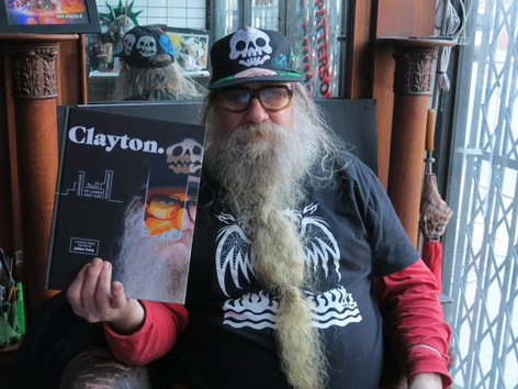 _Clayton: Godfather of Lower East Side Documentary—A Graphic Novel_