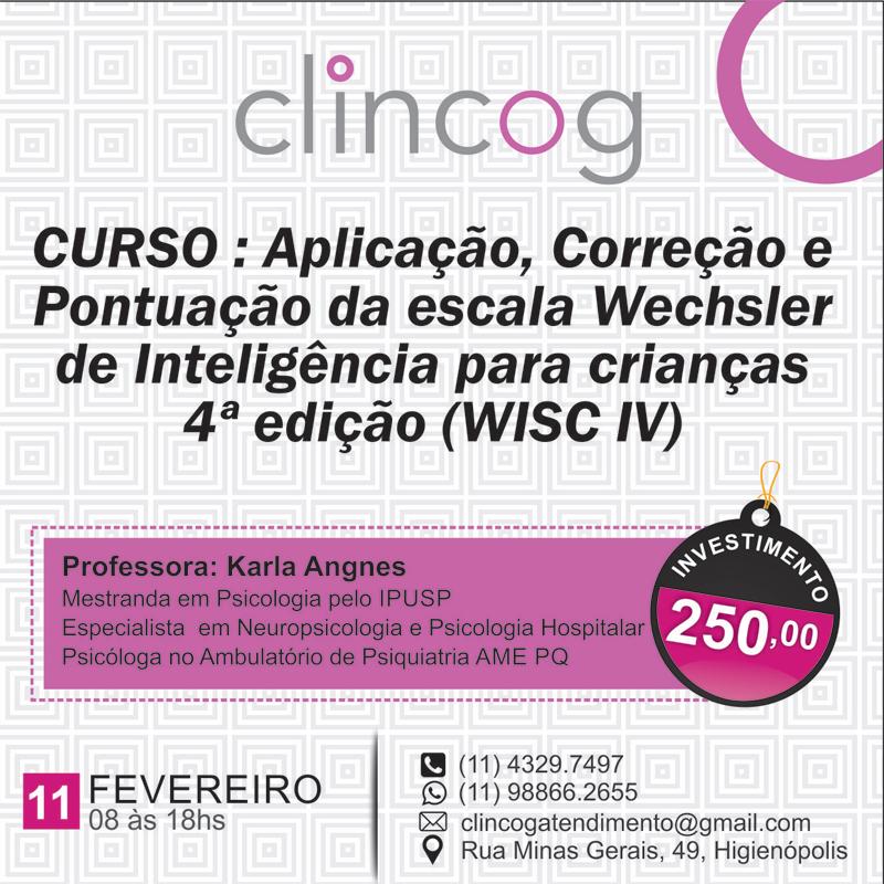 Curso: WISC IV