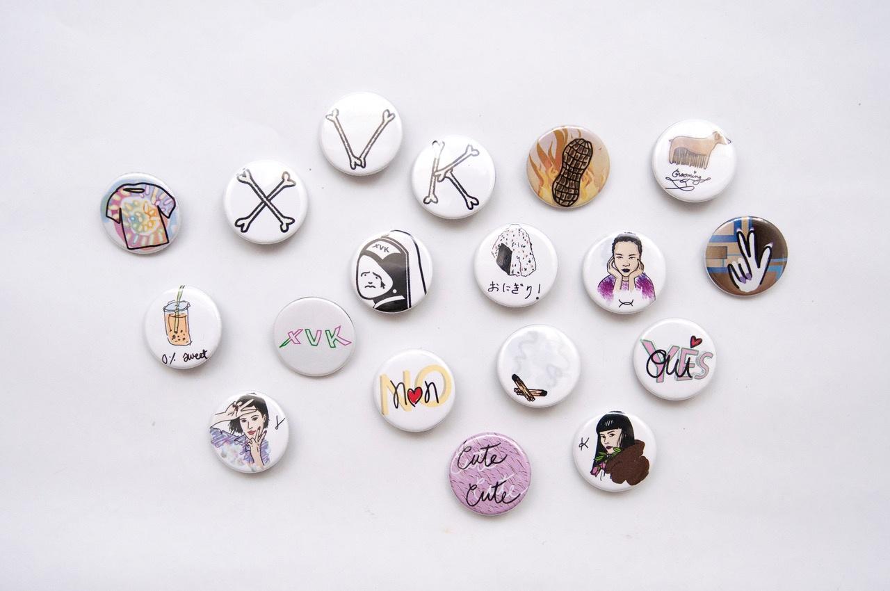 XVK Button (various)