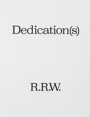 Dedication(s)