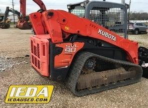 Used 2011 Kubota Svl 90 For Sale