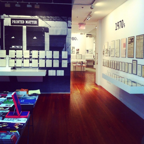 Learn to Read Art: A Surviving History of Printed Matter Opening at NYU's 80WSE Gallery