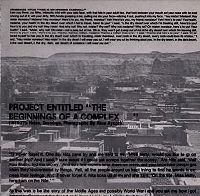 """Project Entitled """"The Beginnings of a Complex--"""" (1976-77) : Notes, Drawings, Photographs"""
