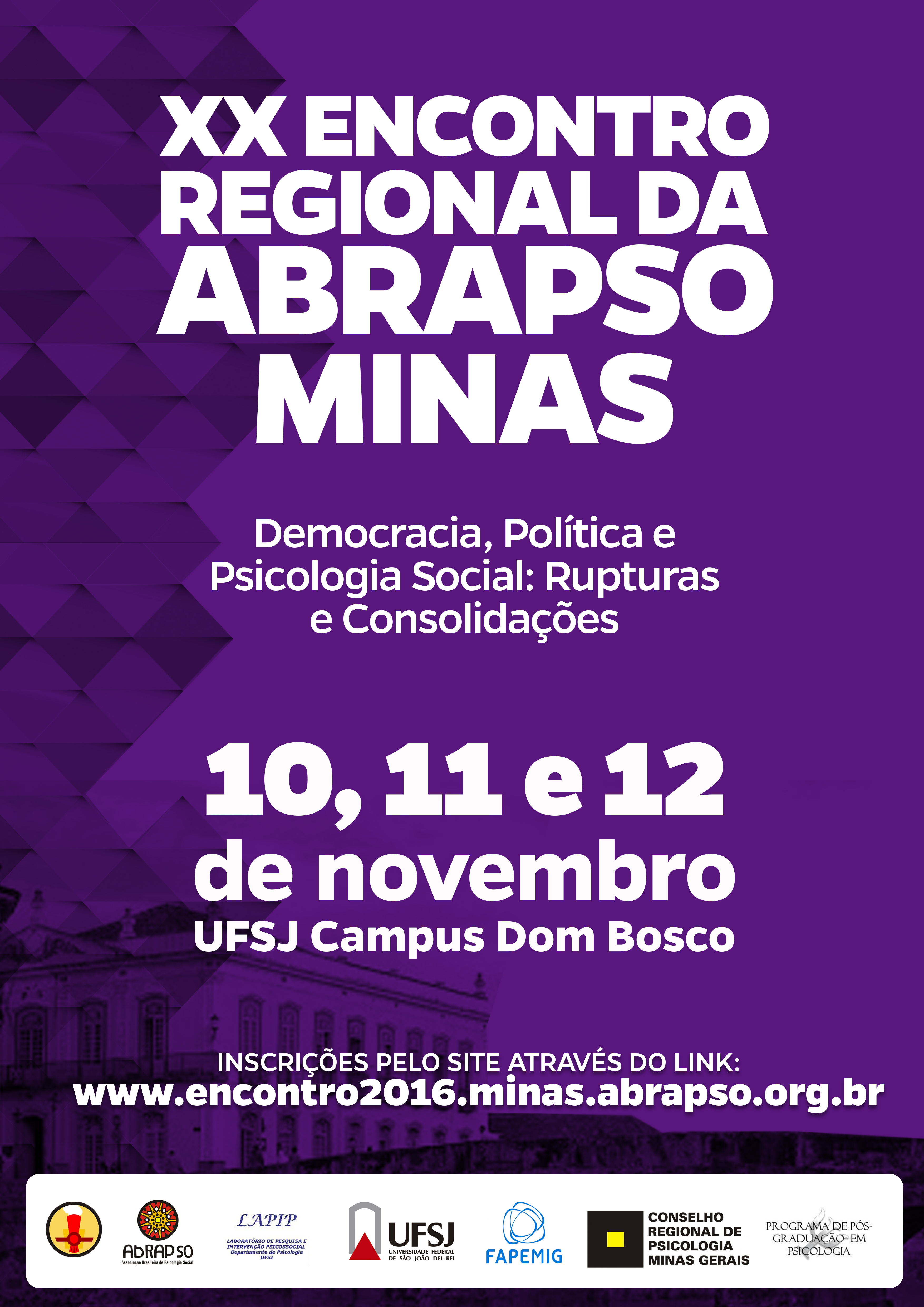 XX Encontro Regional da ABRAPSO Minas