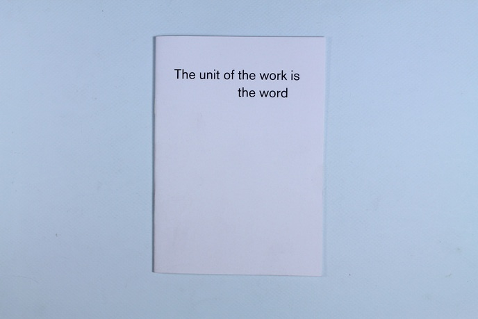 The Unit of the Work