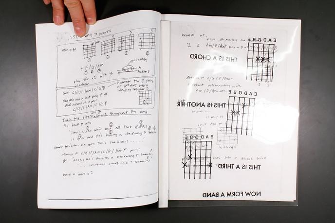 Bootleg 4 : Song Drawings / Paintings 1996 - 2005 thumbnail 4