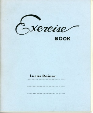 Exercise Book (Blue)
