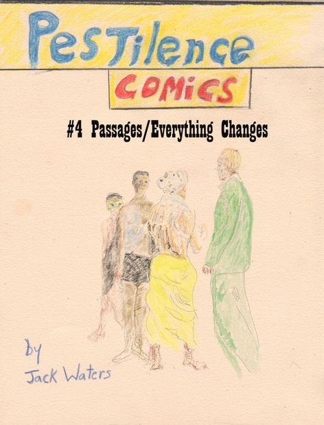 Pestilence Comics reading with Jack Waters
