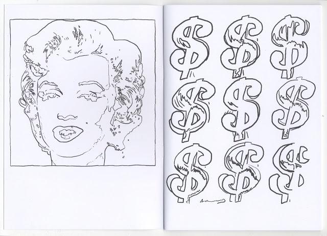 Christian Gfeller Andy Warhol Coloring Book Printed Matter