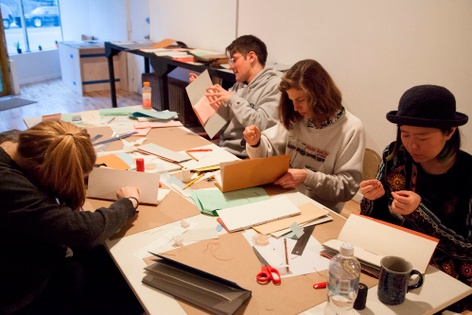 Drop-in Bookmaking Workshop