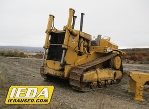 Used 1981 Caterpillar D10L For Sale