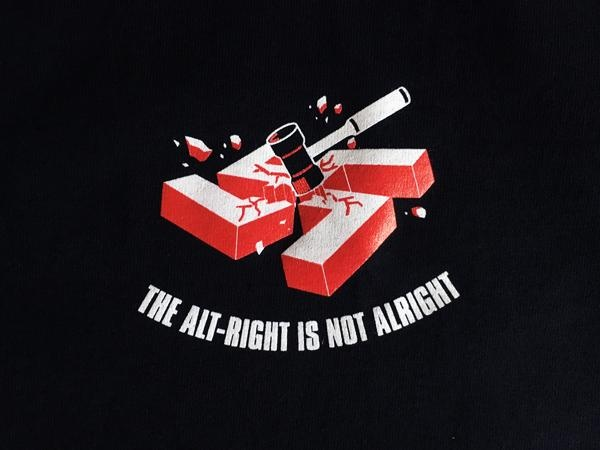 All Nazis Must Die T-shirt + Zine [Small] thumbnail 3