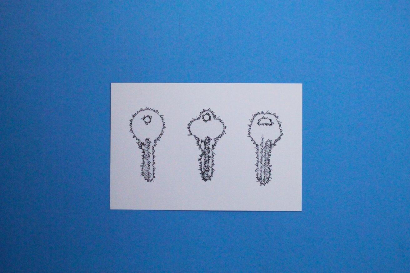Mimi Smith Mailed Exhibition #1 Postcards [Set of 6] thumbnail 6