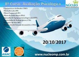 Avaliação Psicológica para Pilotos e Comissários de Bordo 20/10