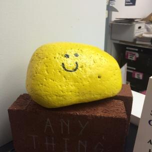 Large Smiley Stone