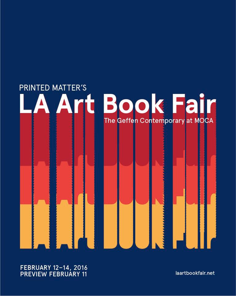 Printed Matter's LA Art Book Fair 2016