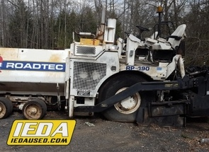 Used 2006 Roadtec RP190 For Sale