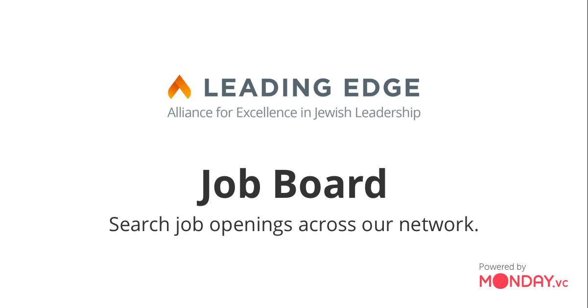 Jobs | Leading Edge HQ Job Board