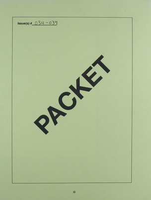 Packet Vol. 6 (Issues 34-39)